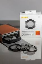 NISI V5 PRO 100mm System  67 72 77 82mm Adaptor Ring Holder CPL Case, Filter Kit