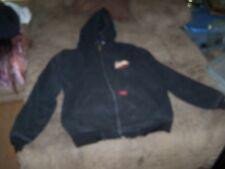 Mens Dickies Thick Insulated Hoodie Jacket Size XL in Great Shape In/Out Pockets