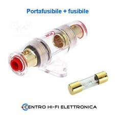 Portafusibile AGU impermeabile con Fusibile 50 Ampere contatti dorati