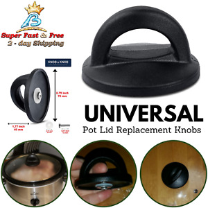 Pot Lid Knobs Handles Replacement Pan Lid Handle Crock Universal Easy to Install