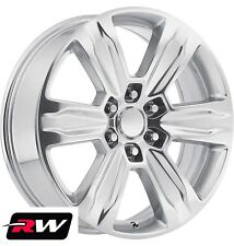 "22"" RW Wheels for Ford F150 2015 2018 Platinum Style Polished Rims 6x135 +44"