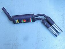 Muffler Assembly Rear Abarth Performance Fits Fiat 128 Coupe & Rally  1381