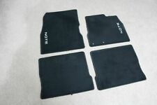 Genuine Nissan Note 2013 On Black Carpet Floor Mats Set REF2033
