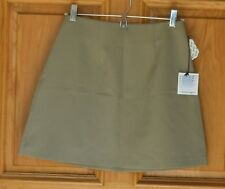 Necessary Objects Ladies Size 3/4 Light Brown Above Knee Length Skirt NWT