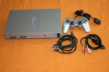 Sony Playstation 2 silber inkl Controller und Zubehör
