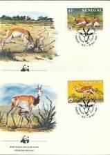 254257) Senegal FDC Nr.875-8 WWF Gazellen
