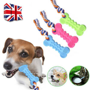 Small Dog Pet Safety Chew Toys Bite-Resistant Puppy Durable Rubber Dental Teeth