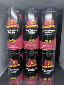 Sun Glo Shuffleboard  powder / wax - 6 speed - 6 pack