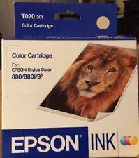 OEM Genuine EPSON T020 201 Color Ink Cartridge For Stylus 880 880i Printer
