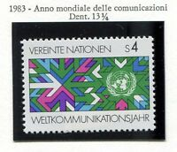 19327) UNITED NATIONS (Vienna) 1983 MNH** Telecommunications.