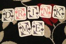 Alice In Wonderland Playing Card Drink Me Bunting/banner decoration