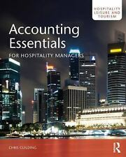 Accounting Essentials for Hospitality Managers (Hospitality, Leisure and Tourism