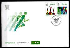 Olympische Sommerspiele 2012, London. FDC+Beschreibung. Irland 2012