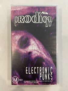 The Prodigy Electronic Punks VHS - music video tape. Rare. Free Post!!