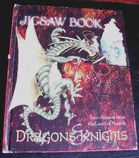 Dragon Knights Terra di Magick Puzzle libro di carte Magic