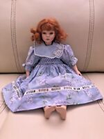 Pauline Bjonness Jacobsen Porcelain Doll Red Hair # 466 out of 1500 12""