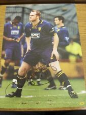 90-2000's Autographed Magazine Picture A4: Wimbledon - Hartson, John. We try and