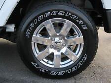 "11-15 Jeep Wrangler New Polished Aluminum Wheels 18x7.5"" Mopar Factory Oem"