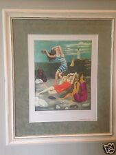 Picasso Lithograph Limited Edition The Bathers Collection Domaine Picasso Estate