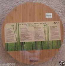 "MAXWELL & WILLIAMS   ""BAMBOOZLED LONG GRAIN ROUND BOARD 43cm ""  EB6543"