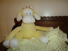 Piccolo Bambino Large Giraffe Babies Plush Toy & Baby Blanket Hand Knitted