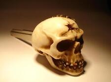 Custom Skull Blank Key YAMAHA R1 FJ YZF FJR FZ1 FZ XJ v star road royal Skeleton