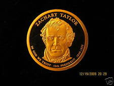2009-S Gem Proof (Zachary Taylor) Deep Cameo Us Presidential One Dollar Coin