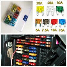 120Pcs Car Auto Truck Mini Zinc Alloy Blade Fuse Set (5/7.5 /10/15/20/25/30 AMP)