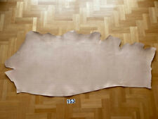 Veg Tan Leather 2,4-2,8mm 1,95 m2 Natural Side Full Grain High quality Cow Bull.
