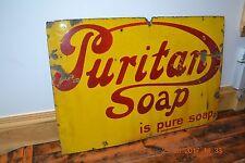 Puritan Soap enamel sign