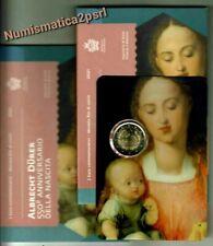 San Marino moneta 2 € fdc Blister Albrecht  Durer 550°  Ann. 2021