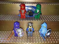 5 Lego Classic Castle Knights Kingdom Ritter Figuren Minifig. Burg Schilde R52