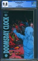 Doomsday Clock 9 (DC) CGC 9.8 White Pages Geoff Johns story Gary Frank Variant