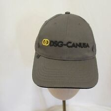 DSG-CanUSA Cap Hat Gray Embroidered Stretchy Strapback