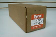 """MUSKY"" Cutless Bearing 2-1/2"" x 3-1/8"" x 10"" MORSE Brass Shell marine bearing"