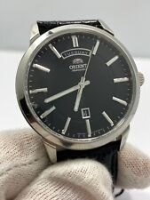 New Orient Stainless Steel Date Day  Automatic 50m Watch FEV0U003BH $369