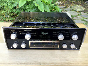 McIntosh C28 Stereophonic Preamplifier works good condition vintage 1970s preamp