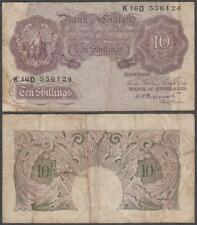Great Britain, 10 Shillings, ND (1940-48), VF+, P-366