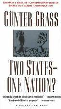 Two States--One Nation? by Gunter Grass (English) Paperback Book Free Shipping!