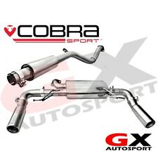 RN04 Cobra Sport Renault Clio 197 2.0 16V 06-09 Cat Back Exhaust Resonated