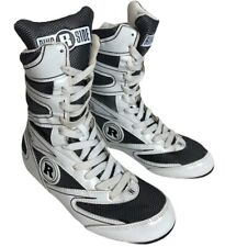 Ringside Hi-Top Undefeated Boxing Shoes - White, New with Box -Size Us 3, Eur 36