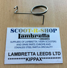 LAMBRETTA CLUTCH ARM EXTERNAL SPRING. STAINLESS STEEL. SERIES 1, 2 AND 3 NEW