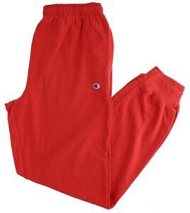 "Champion Men's Big & Tall Jogger Classic Sweatpants Small ""C"" Logo Patch, Cuffed"