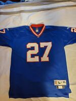 Blue Throwback Reebok Stitched Rodney Hampton Jersey