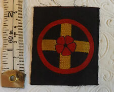 A Military WWII British Western Home Command Cloth Formation Badge (2029)