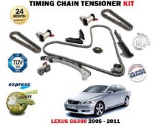 FOR LEXUS GS300 3.0 231BHP RWD AUTOMATIC 2005-2011 TIMING CHAIN TENSIONER KIT