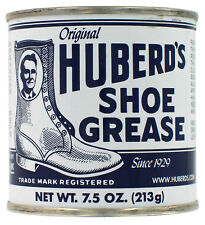 Huberd's Shoe Grease Beeswax Waterproofer Leather Conditioner 7.5 Oz