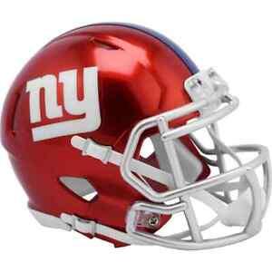 New York Giants  Riddell FLASH Alternate Revolution Speed Mini Helmet