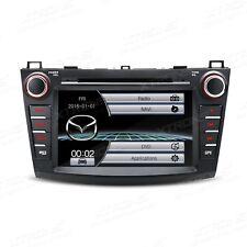 "AUTORADIO 8"" MAZDA3 2010-2013 DTV/AUX/GPS/USB/SD/3G Navigatore Gps"