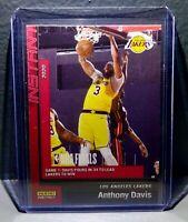 Anthony Davis 2020 Panini LA Lakers NBA Champions #21 Basketball Card